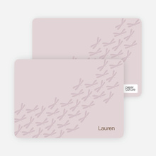 Bzzzz and Zzzzz: Personal Stationery - Pale Wisteria