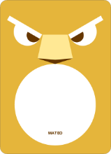 Lion Face: Personal Stationery - Mustard Yellow
