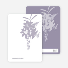 Personal Stationery for Simply Lilies Modern Party Invitation - Wisteria
