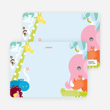 This is Where the Wild Things Live: Personal Stationery - Cotton Candy