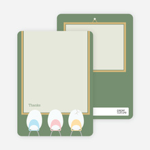 Egg Classroom: Thank You Cards - Lilypad