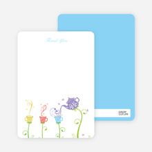 Garden Tea: Thank You Cards - Violet