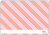 Holiday Diagonal Stripes - Back View