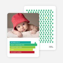 Christmas Tree Cards - Green