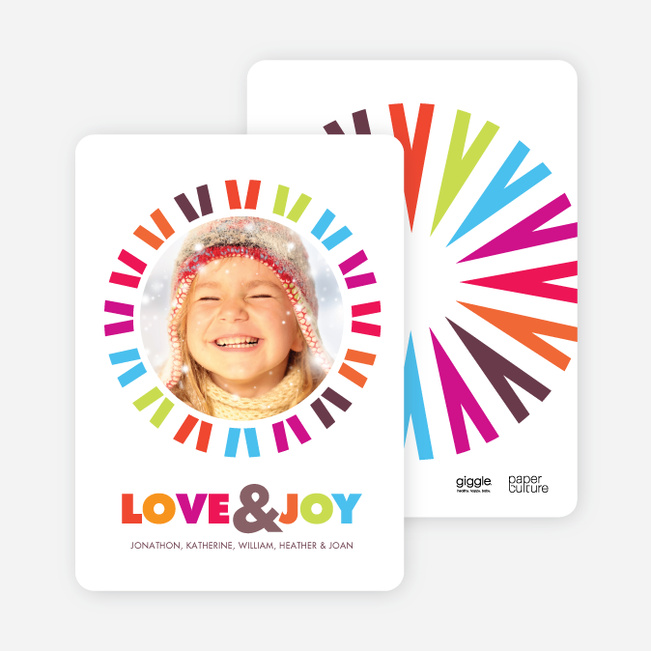 Holiday Cards Full of Love & Joy - Multi