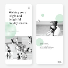 Bright and Delightful Holiday Cards - Green