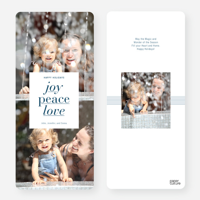 Jumbo Joy, Peace and Love - Blue