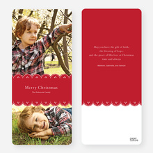 Merry Christmas Cards - Red