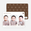 3 Photo Chinese New Year Cards - Brown