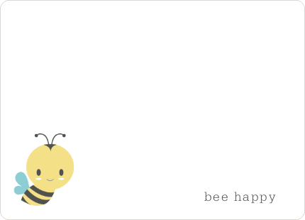 Buzz worthy Bee Hive Stationery - Yellow