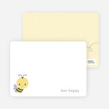Bee Hive Stationery - Purple