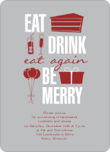 Eat Drink Eat Again - Gray