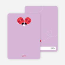 Ladybug Love - Purple
