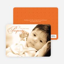 Prosperity - Orange