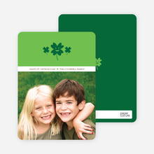 Saint Patrick's Day Photo Cards - Green