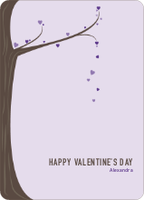 Tree of Love - Purple