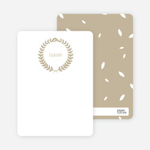 Wreath Stationery - Brown
