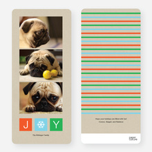 J*Y Holiday Cards - Orange