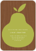 Raining Pears - Front View