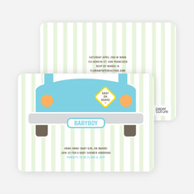 Baby on Board Baby Shower Invitations - Fresh Spirit