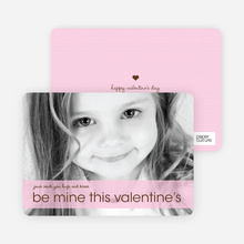 Be Mine This Valentine's - Lavender