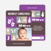Christmas Card Memories: Reindeer, Mittens, Trees, Snowmen and more! - Amethyst