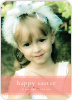 Classic Easter Photo Cards - Pink Velvet