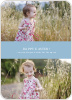 Easter Photo Sandwich - Elegant Blue
