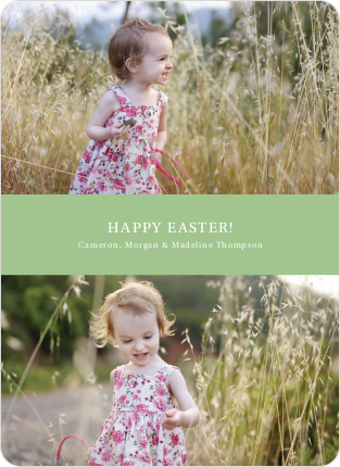 Easter Photo Sandwich - Nimble Green