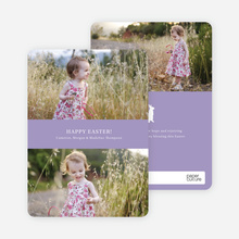 Easter Photo Sandwich - Purple Frosting