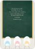 Eggs in a Classroom for Multiple Births - Chalkboard Green