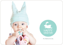 Elise the Easter Bunny - Aquamarine