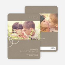 Ring Photo Cards - Stone