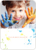 Finger Paint Love - Modern Orange