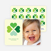Four Heart Clover for Valentine's Day - Forest Green