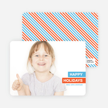 Simply Happy Holidays - Light Blue