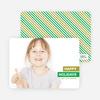 Happy Holidays Photo Card - Green