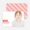 Happy Holidays Photo Card - Orange