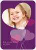Heart Shaped Balloons - Amethyst