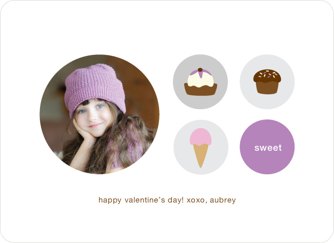How Sweet It Is: Valentine's Day Cards - Lilac