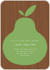 Raining Pears - Pear Brown