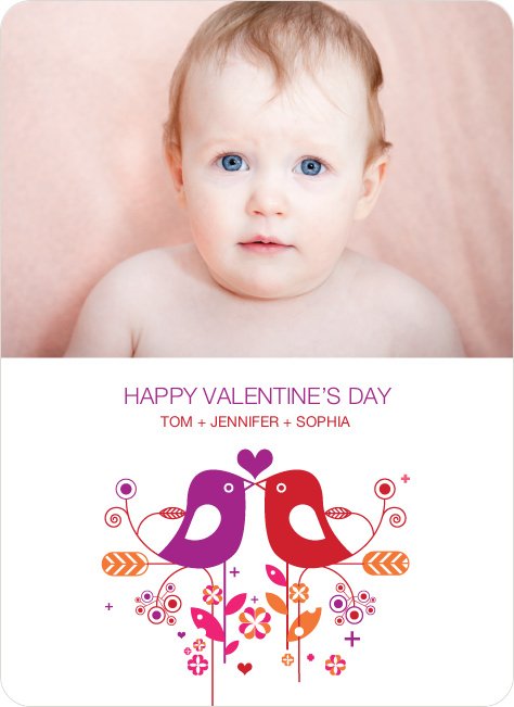 Kisses, Smooches & Slobber on Valentine's Day - Violet