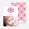 Love Birds Valentine's Day Photo Cards - Carnation