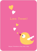 Love Tweet - Candy Pink