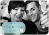 Modern Classic Save the Date Photo Cards - Baby Blue