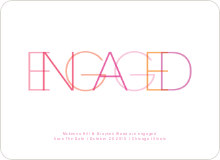 Engaged - Shocking Pink