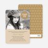 Modern Photo Bar and Bat Mitzvah Invitations - Yellow