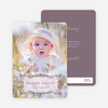 Modern Traditionalist Easter Photo Card - Baby Grey