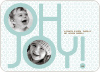 Oh Joy Modern Photo Cards - Seafoam