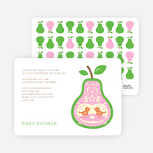 Pear Birds - Light Green